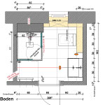 Grundriss-Plan-Bad